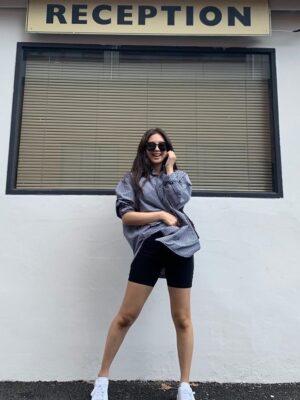 Black And White Checkered Shirt | Jennie – BlackPink
