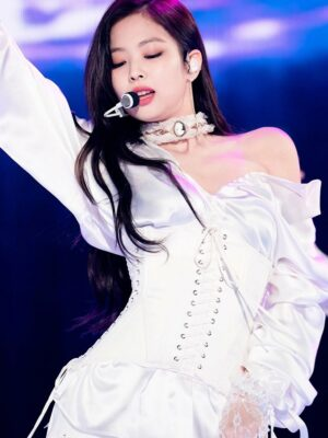 White Girdle Belt | Jennie – BlackPink