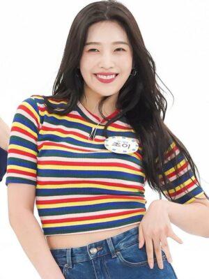 Rainbow Stripe Patterned T-Shirt | Joy – Red Velvet