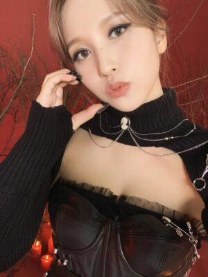 Black Turtleneck Bolero Top | Mina – Twice