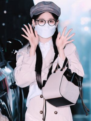 Beige Cropped Coat | Miyeon – (G)I-DLE