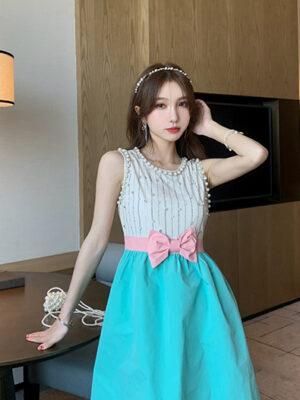 Pearl Bow Princess Dress With Diamonds Yoona – Girls Generation 02