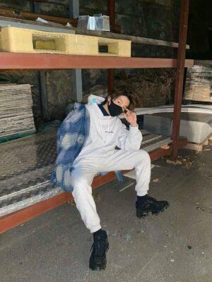 Blue Plaid Loose Jacket | Jay – iKON