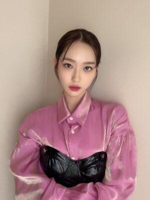 Black Leather Tube Top   Joo Seok Kyung – Penthouse
