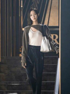 Black Velvet Pants   Joo Seok Kyung – Penthouse