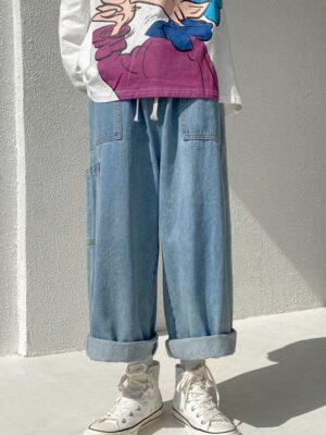 Jungkook – BTS Baggy Denim Jeans (1)
