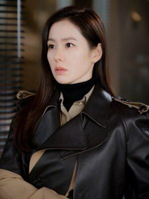 Two-Tone Belted Trench Coat | Yoon Se Ri – Crash Landing On You