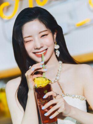 Pearl Cropped Halter Top | Dahyun – Twice