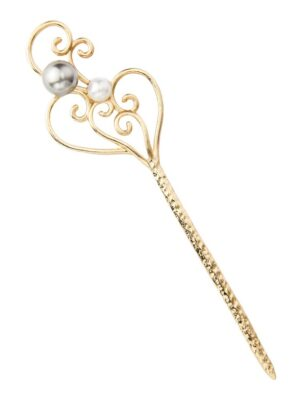 IU – Hotel Del Luna Antique Style Pearl Hairpin (4)