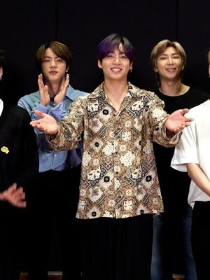 Oversized Bandana Shirt | Jungkook – BTS