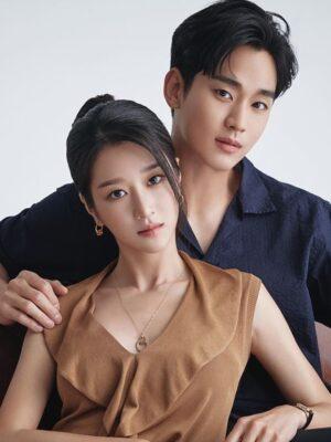 Crystal Embellished Round Earrings | Ko Moon‑Young – It's Okay Not To Be Okay