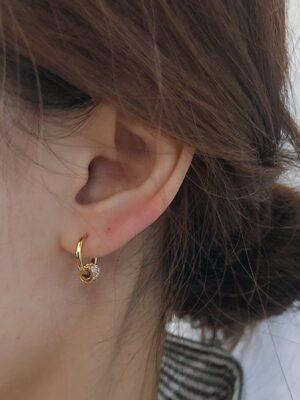 Ko Moon‑Young – It's Okay Not To Be Okay Crystal Embellished Round Earrings (4)