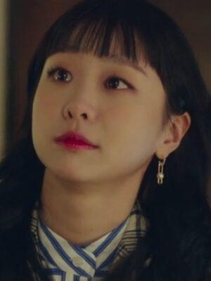 Pearl Earrings With Crystal Detail | Jo Yi So – Itaewon Class